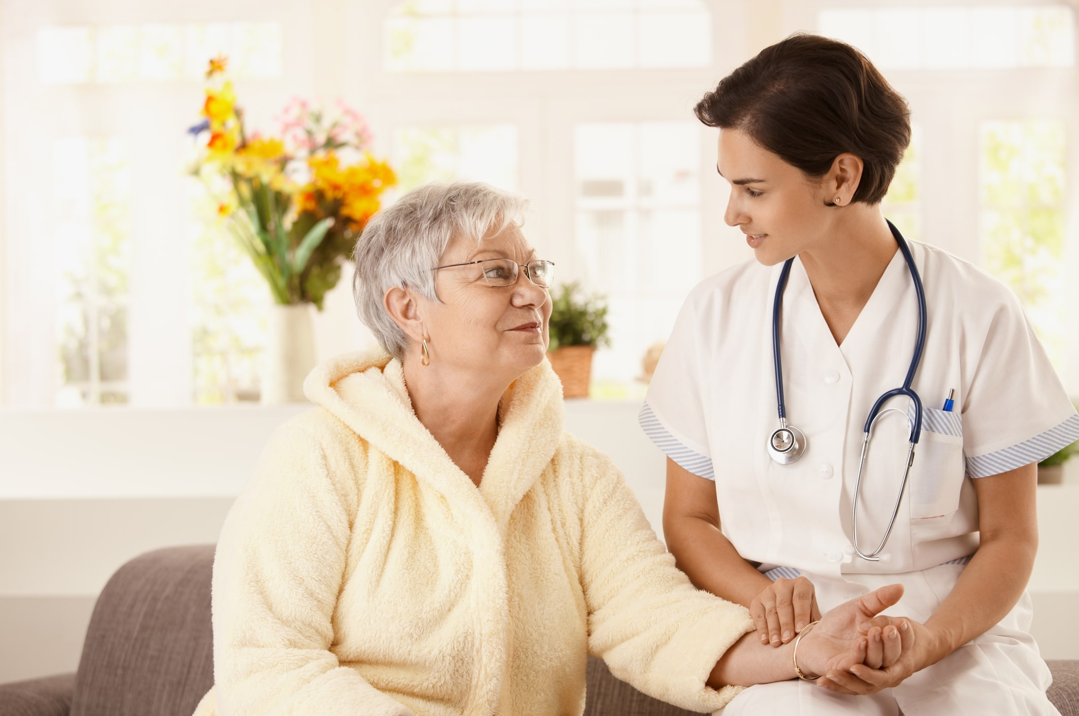 Home health care and private duty care include very different services.